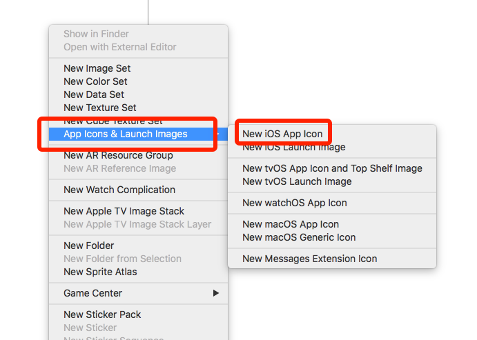 Assets.xcassets: None of the input catalogs contained a matching stickers icon set or app icon set named